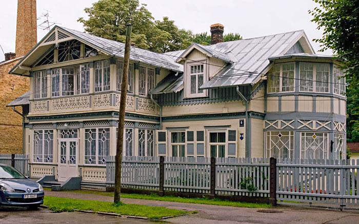 Архитектура юрмалы фото деревянное