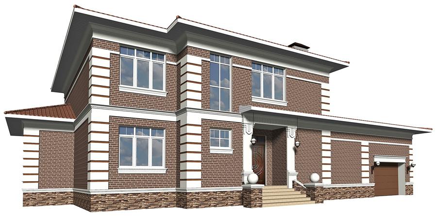 Примеры проектов Дизайн фасадов архитектор Москва