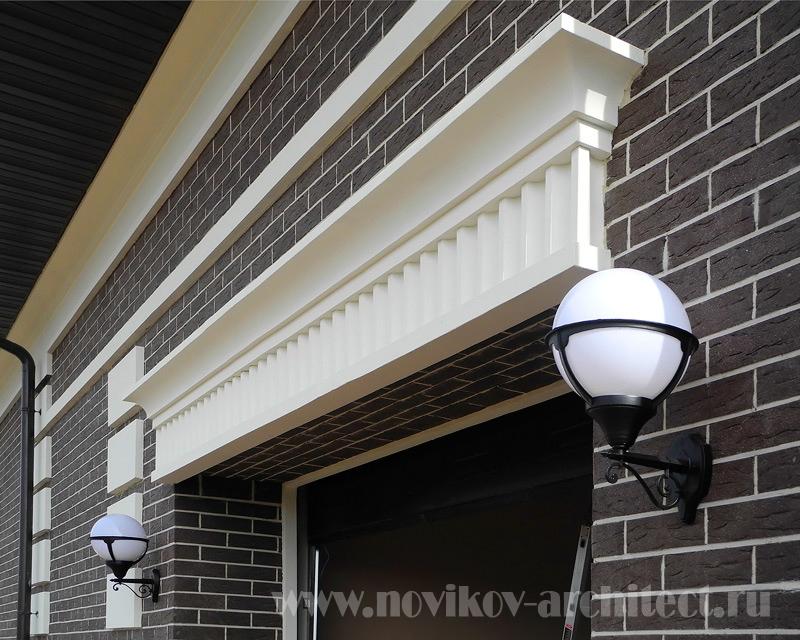 Пример дизайна фасадов дома - реализованный проект фото