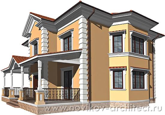 дизайн фасадов в португальском стиле